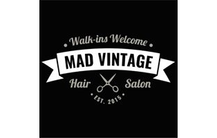 Mad Vintage Hair Salon -- $25 GC