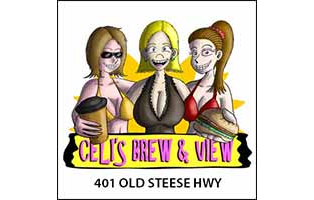Celi's Brew & View -- $50 GC (10x $5 cards)